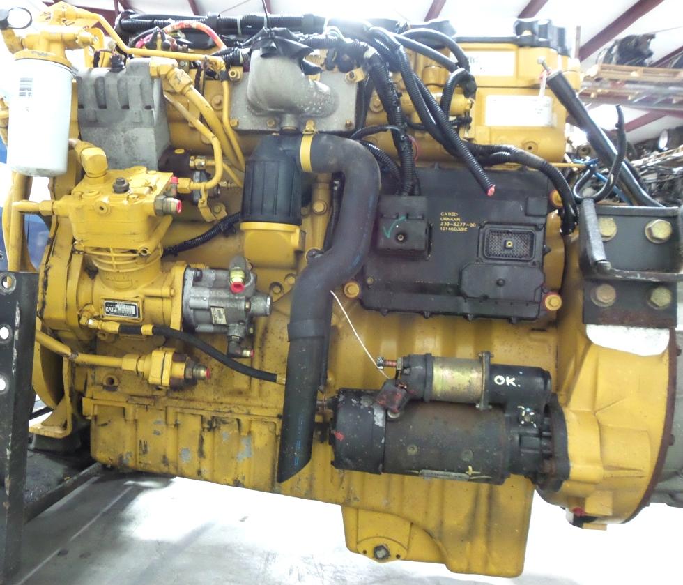 CATERPILLAR DIESEL ENGINE   CAT C9 8 8L 400HP DIESEL ENGINE